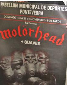 MotorHead + Los Suaves