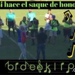 Yosi hace el saque de honor entre UD Ourense y Unionistas de Salamanca
