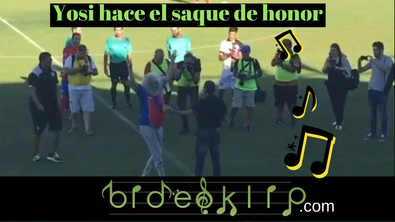 Saque honor Yosi