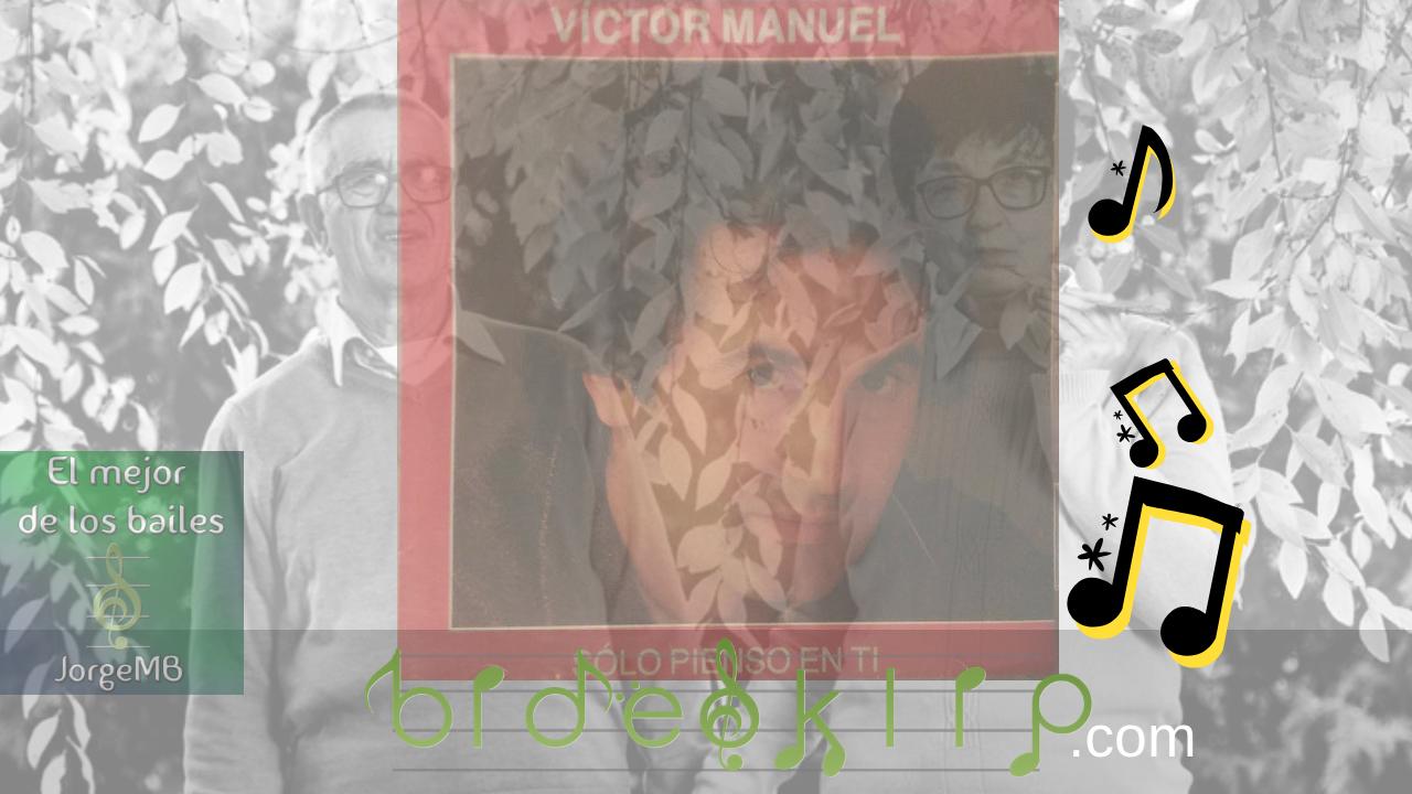 La verdadera historia de sólo pienso en tí de Victor Manuel