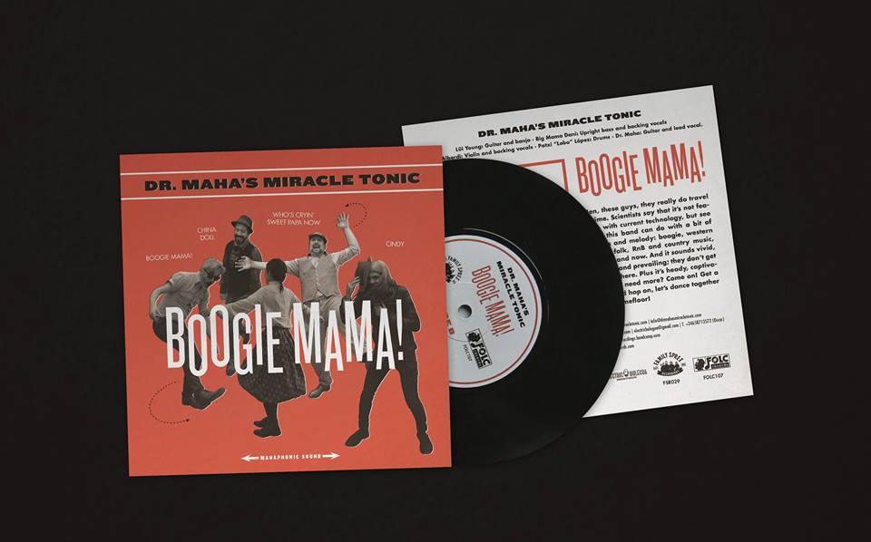 Dr. Maha's Miracle Tonic -Boogie mama! - 2019