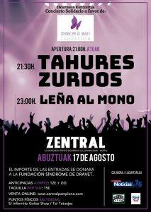 Tahures Zurdos en Zentral de Pamplona